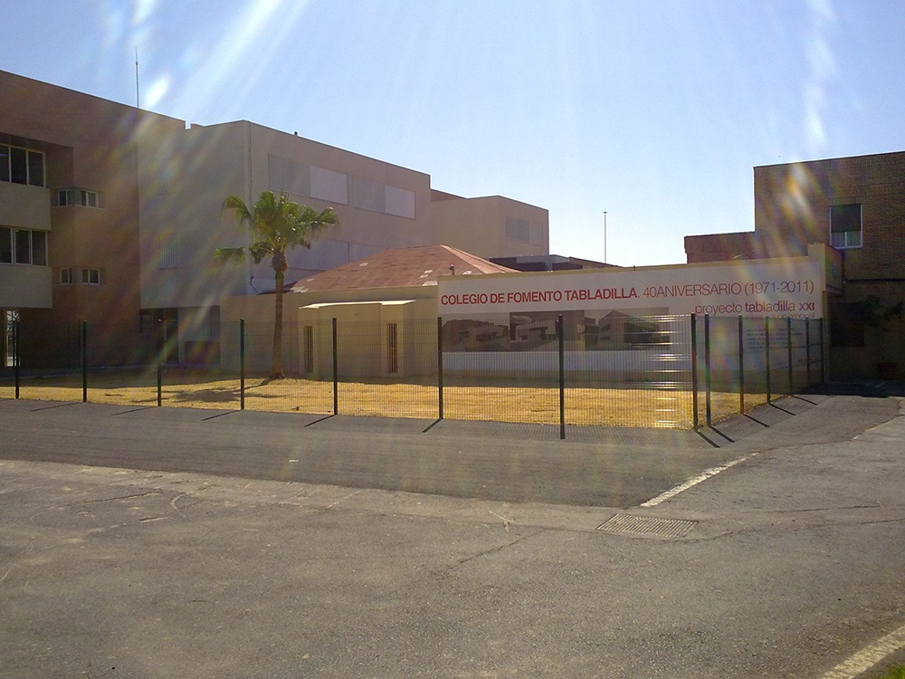 Reforma del Colegio Tabladilla