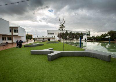 Reforma de pistas deportivas en Colegio Entreolivos