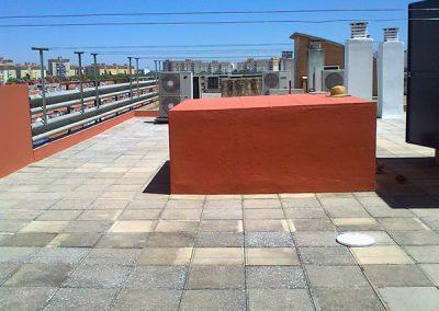 Impermeabilización de Edificio Universidad Pablo de Olavide