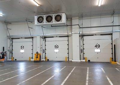 Ampliación de cámara de congelados para Supermercado ALDI
