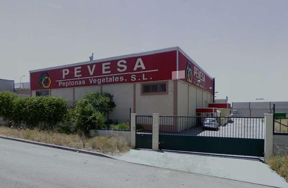 Estructuras portantes para sujección de maquinaria en la empresa Pevesa Peptonas Vegetales