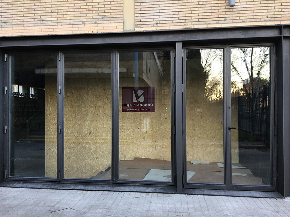 Reforma del Pabellón de Arquitectura